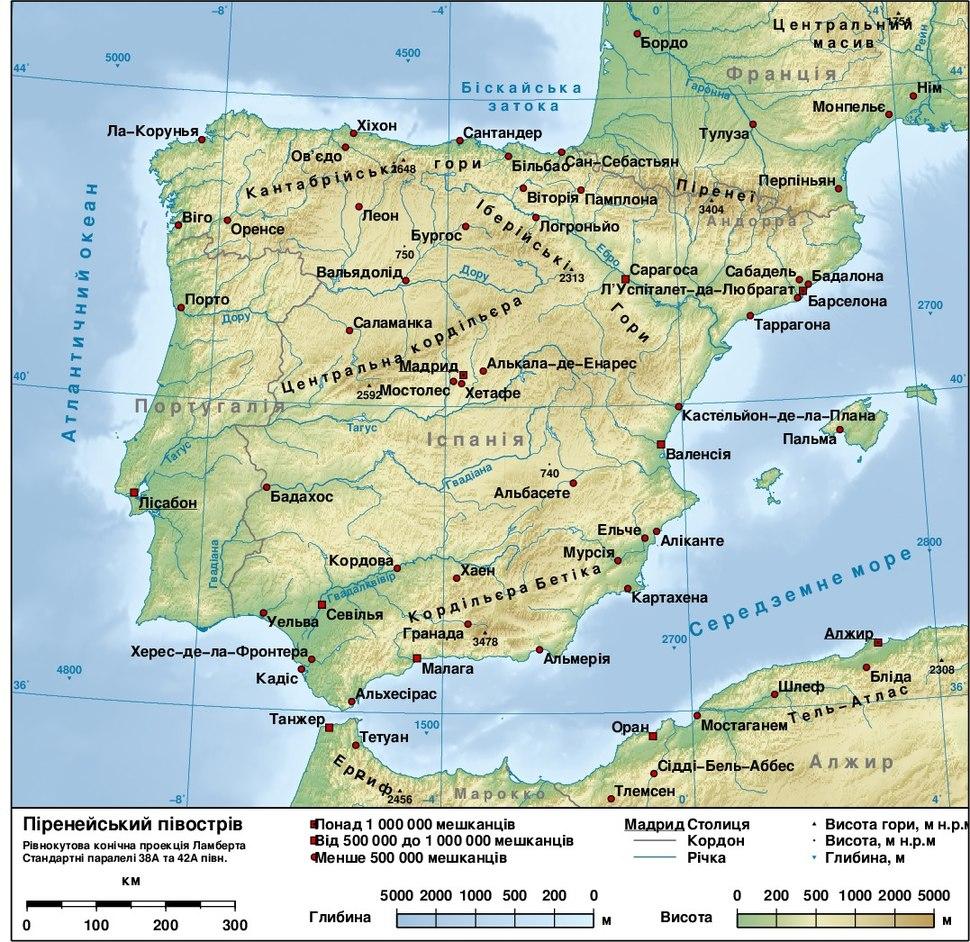 Iberian peninsula gmt ua