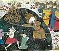 Ibn Houssam Khawar Namah - Ali kills the demons.jpg