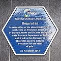 Ibuprofen Blue Plaque, BioCity, Nottingham 01.jpg