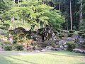 Ichijodani Suwa residence ruin garden.jpg