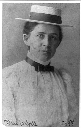 Ida Tarbell - Ida Minerva Tarbell, 1890