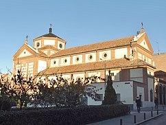 Iglesia de Nuestra Señora de las Victorias, Madrid (1928-1930), con M. Durán y Loriga.