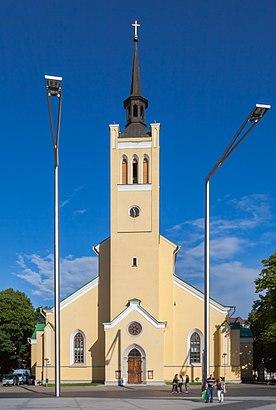 Как доехать до Tallinna Jaani kirik на общественном транспорте