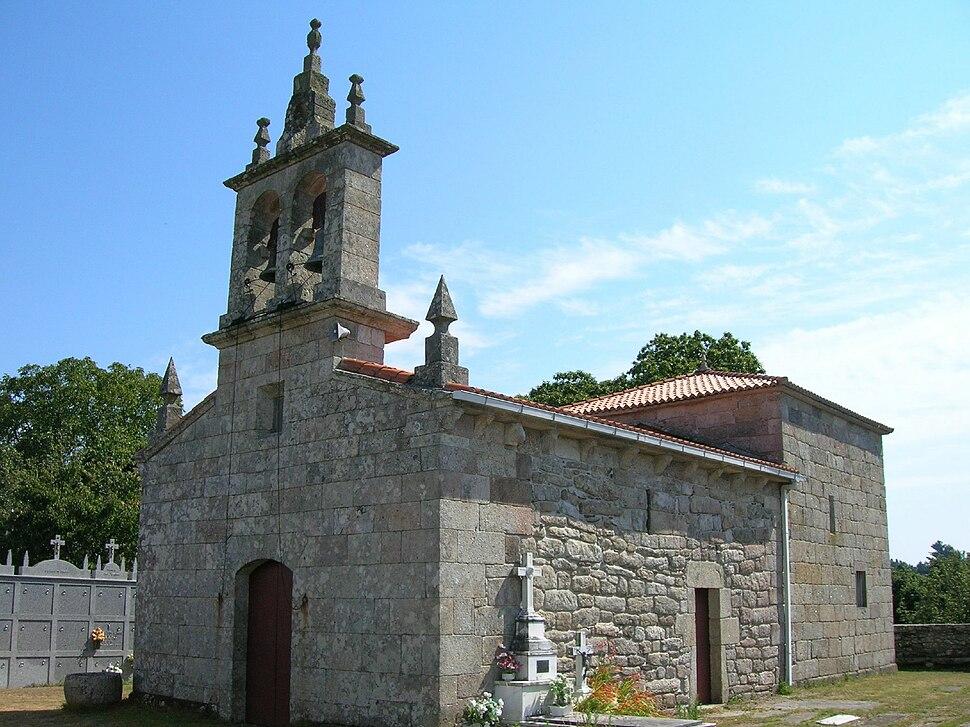 Igrexa de San Miguel de Cervela.