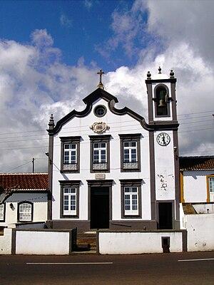 Porto Martins - Church of Santa Margarida, constructed by the 1st Viscount of Porto Martins