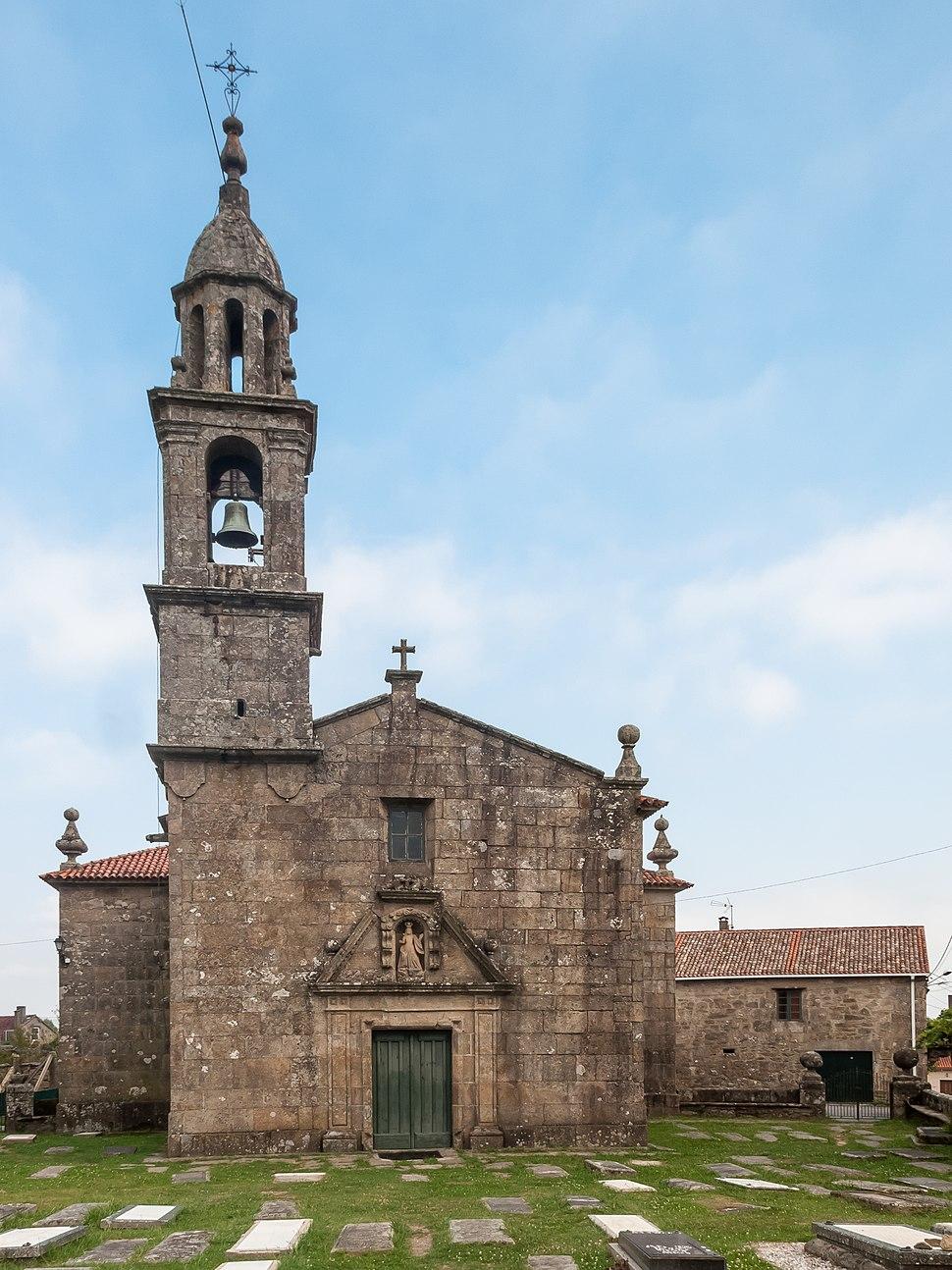 Igrexa parroquial de Dodro. Dodro. Galiza-2