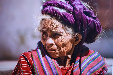 A Mayan woman. Image of photo of Mayan woman (6849889936).jpg