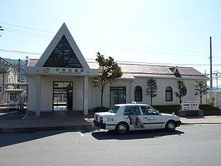 Ina-Matsushima Station Railway station in Minowa, Nagano Prefecture, Japan