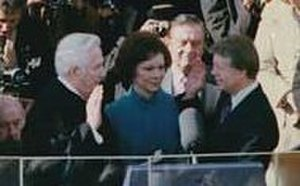 "Nickname - ""I, Jimmy Carter..."" James Earl Carter is sworn in as President of the United States using his nickname ""Jimmy"" in January 1977."