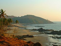 India Goa Vagator Beach General view.jpg