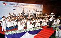 Indian Naval Symphonic band performance at Le Meridien, Kochi.jpg