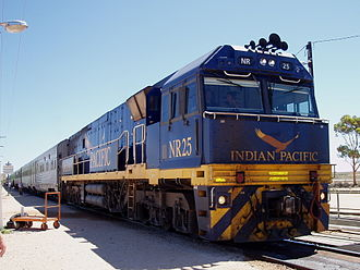 GB Railways - Indian Pacific at Cook, South Australia