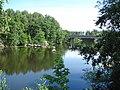 Innsjø i Mosen-Lake in the Moss - panoramio.jpg
