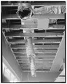 Interior, ceiling, south side of front room - Safeway, 3033 West Alameda Avenue, Denver, Denver County, CO HABS COLO,16-DENV,71-17.tif