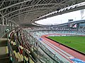 Interior view of Dynamo Stadium (Minsk, Belarus) — Внутренний вид стадиона Динамо (Минск, Беларусь) 2018 2.jpg