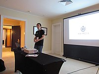 Introduction to Wikimania session at Wikimania 2018 01.jpg