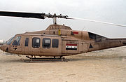 Iraqi Model 214ST SuperTransport helicopter, 1991