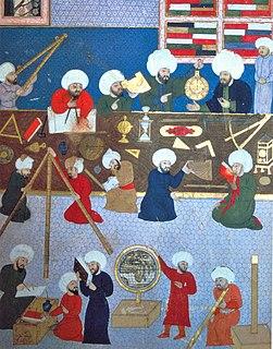 Taqi ad-Din Muhammad ibn Maruf Ottoman Syrian polymath (1526-1585)
