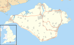 Rowridge transmitting station is located in Isle of Wight