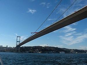 Fatih Sultan Mehmet Bridge; Istanbul, Turkey