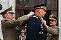 Italian Army Chief of Staff Lt. Gen. Claudio Graziano, left, awards the Order of Merit of the Italian Republic to Chief of Staff of the U.S. Army Gen. Raymond T. Odierno, center, during a ceremony May 2, 2013 130502-A-AO884-245.jpg