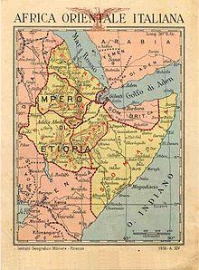 Italian East Africa Wikipedia