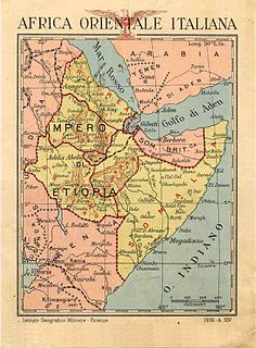 Amhara Governorate governorate of Italian East Africa