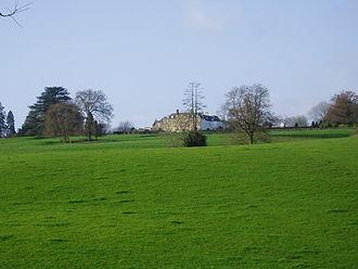 Itton Court - Distant view of Itton Court