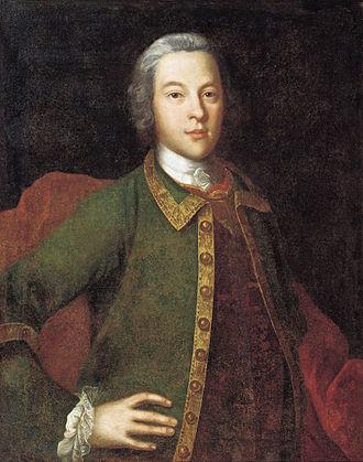 Petr Ivanovich Panin - Petr Ivanovich Panin by Ivan Vishnyakov, 1742