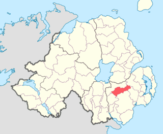 Iveagh Lower, Upper Half Place in Northern Ireland, United Kingdom