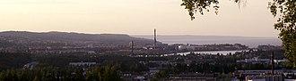 Jönköping - Image: Jönköping panorama
