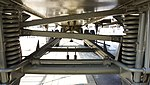 JASDF Nike-J radar control trailer suspension at Hamamatsu Air Base Publication Center November 24, 2014.jpg