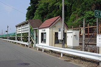 Mangokuura Station - Mangokuura Station in July 2009