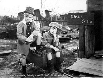 Skippy (film) - Jackie Cooper and Robert Coogan in Skippy