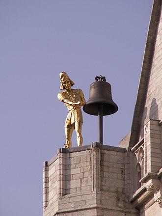 Jacquemart (bellstriker) - Jacquemart the collegial Saint-Pierre de Leuven