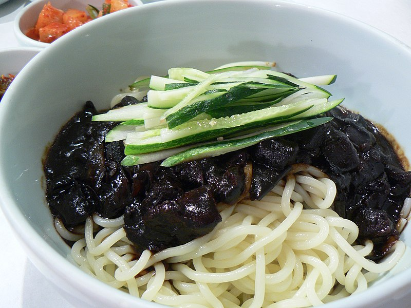 File:Jajangmyeon by stu spivack.jpg
