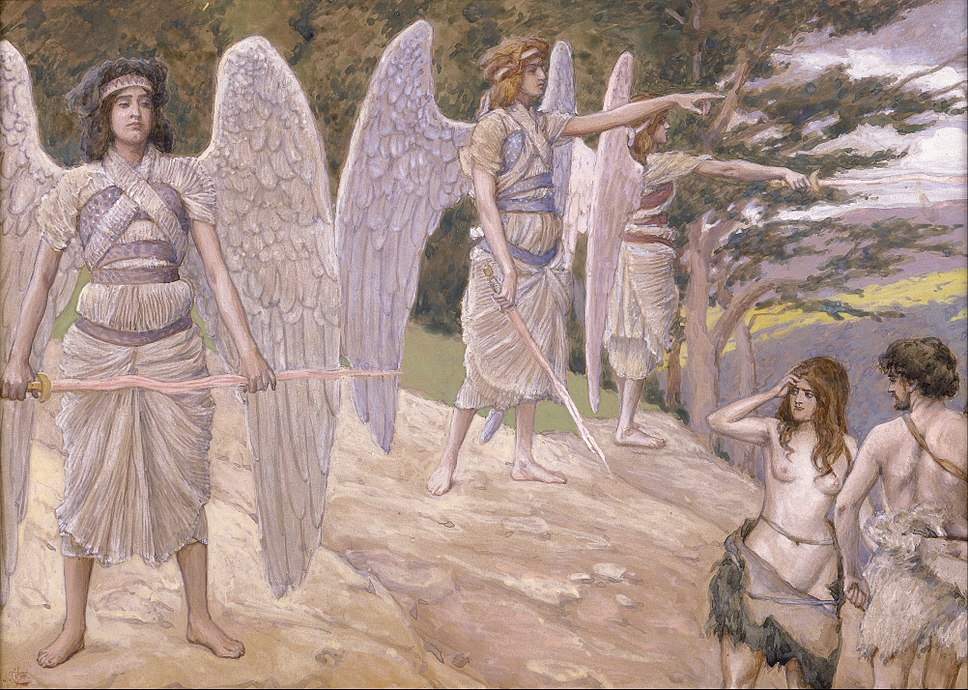 James Jacques Joseph Tissot - Adam and Eve Driven From Paradise - Google Art Project
