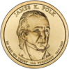 James Polk Presidential $1 Coin obverse.png