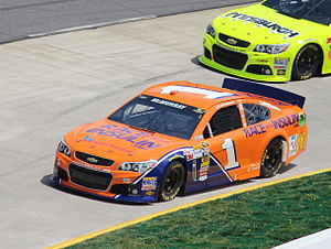 Jamie McMurray - McMurray during the 2013 STP Gas Booster 500