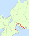Japan National Route 23 Map.png