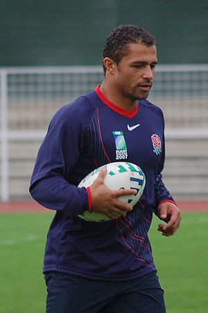 Jason Robinson (rugby player) - Robinson training in 2007