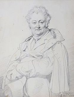 Jean-Auguste-Dominique Ingres, Portrait of Guillaume Guillon Lethière.jpg