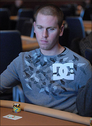 Jeff Madsen - Madsen at the 2008 Five Diamond World Poker Classic