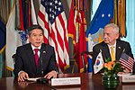 Jeong Kyeong-doo and James Mattis 181031-D-HA938-207 (44739174705).jpg