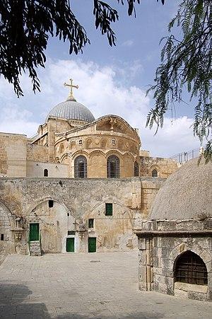 Greek Orthodox Church of Jerusalem - View of the Holy Sepulchre, Jerusalem