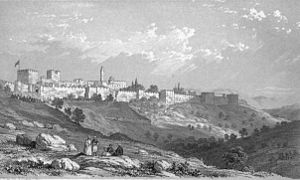 picture of Jerusalem from mount zion