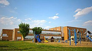 École J. H. Picard School - Image: Jh picard southwest view