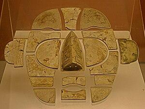 Tomb of the Jibei King - Image: Jibeiking mask 2008 09 07