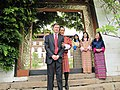 Jigme Singye Wangchuck and Robert Blake.jpg
