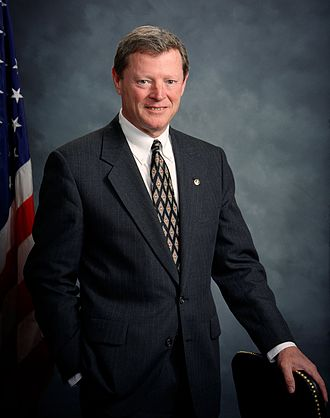 United States Senate special election in Oklahoma, 1994 - Image: Jim Inhofe official photo
